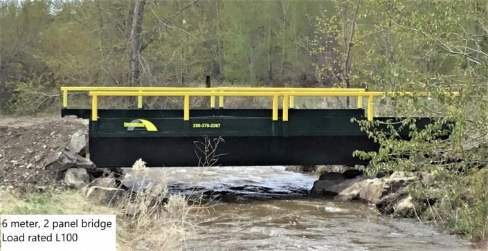 6 Metre Bridge - 2hr Install
