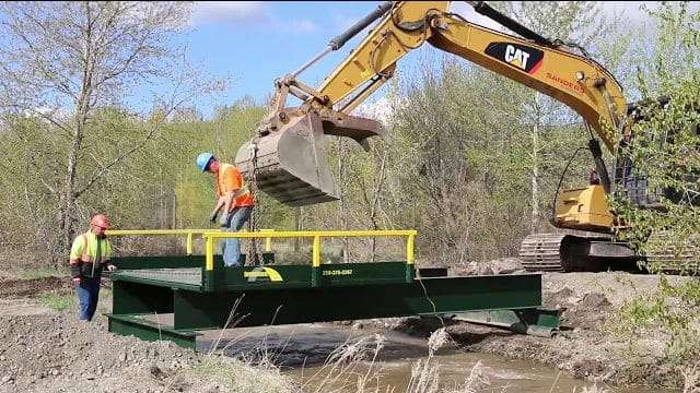 6 meter Panel Bridge installation Video